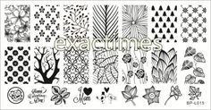 Forest-Pattern-Trees-Nail-Art-Stamp-Template-Image-Plate-BORN-PRETTY-BP-L015