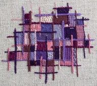 Color Stitch Study - embroidery
