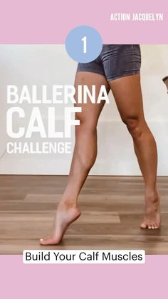 Gym Workout Videos, Barre Workout, Workouts, Fitness Workout For Women, Fitness Legs, Calf Exercises, New Shape, Wellness Fitness, Motivation