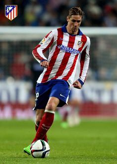 Fernando Torres of Atletico Madrid Spanish Football Players, Best Football Players, Good Soccer Players, Spain Football, Real Madrid Football, Football Soccer, Pier Paolo Pasolini, Sports Models, Juventus Fc