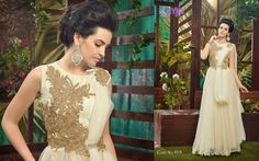 Celebrity Fashion Fabrics detail Gown :- Georgette Work :- Embroidery , hand work , stone work , heavy work ,zari work Type :- semi stitched Price: To buy DM or what's app on: 8828225999 Net Gowns, Stone Work, Fashion Fabric, Outfit Posts, What I Wore, Outfit Of The Day, Celebrity Style, Wedding Dresses, Celebrities