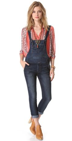 Free People Washed Cord Overalls | SHOPBOP