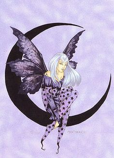 Amy Brown Fairy Moon Sprite   ... amy brown art cards, nene thomas art cards, jessica galbreth cards