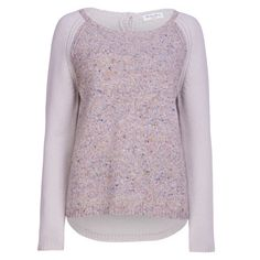 Marilyn Moore Aw2013 Hand knit tweed cashmere sweater to wear everyday