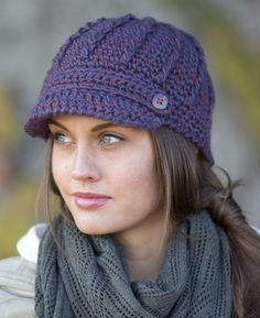 9524e856111 Pistil Designs - clara I live the brim in these hats because it keeps the  snow. Crochet Adult HatComplimentsKnitted HatsWomen s ...