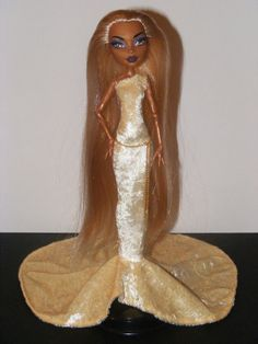 Monster High Fashion Pale Yellow Dress Outfit by rosdolls on Etsy, $15.00