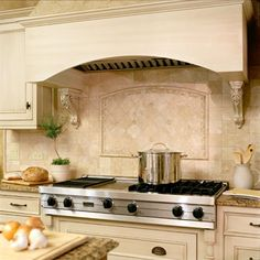 natural stone backsplash tile on pinterest stone