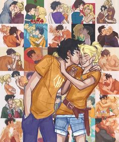 Un gran amor: Percy Jackson y Annabeth Chase