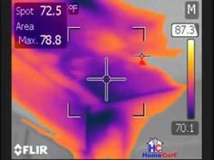 Is your air conditioning working properly? Infrared Thermography Video of AC Duct Leak (+playlist)