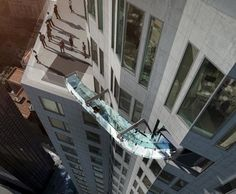 Instagrammers are Sliding off Skyscrapers with the SkySlide-Wmag