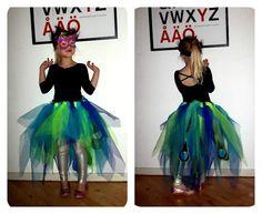 Peacock costume skirt