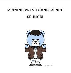 Bigbang Krunk, Bigbang Logo, Seungri, G Dragon, My Passion, Kdrama, Panda, Fanart, Kpop