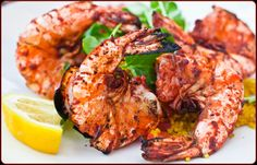 Go a little exotic for an easy weeknight dinner or one that will impress guests! This recipe riffs on India's famous tandoori chicken-electric red chicken pieces marinated in a savory yogurt and spice mixture and cooked in a tandoor oven. But the marinade is wonderful on shrimp (or lobster), and uses ingredients you probably have in your pantry. Serve the shrimp with long grain or basmati rice.