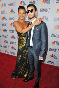 Vanessa Williams and her son Devin.