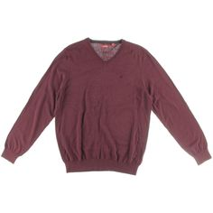Izod Mens Big & Tall Cotton Marled Pullover Sweater