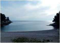 'Gortanova uvala' - Bucht in Pula, heute www.inistrien.hr #Pula #Istrien