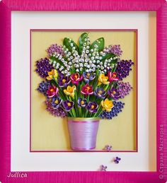 Lilacs and lily of the valley
