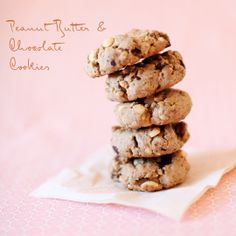 gluten free peanut butter and chocolate cookies - going to make for Liam!