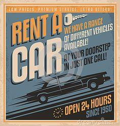 Car Sale Vintage Metal Sign Stock Vector - Image: 44006546