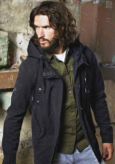Best Hairstyles , Good Long Haircuts for Men 2014 : The Oft Center Parted Curly And Wavy Hairstyle