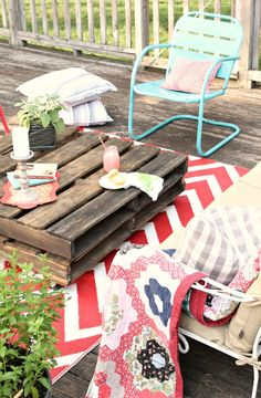 Summer Porch Inspiration - the little farm diary
