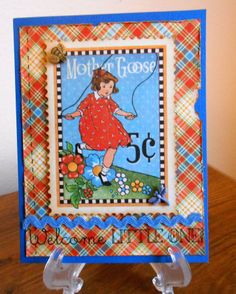 Little One - Scrapbook.com #Graphic45 #Mother Goose #SRM stickers