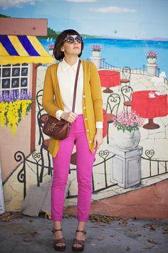 calivintage: pink pants by calivintage, via Flickr