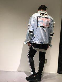MISBHVのデニムジャケットを使ったゆうた(Lui's 天王寺店)のコーディネートです。WEARはモデル・俳優・ショップスタッフなどの着こなしをチェックできるファッションコーディネートサイトです。