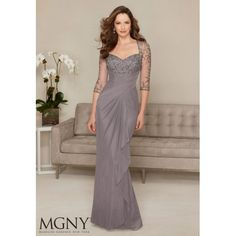 MGNY by Mori Lee Mother of the Bride Dress 71302