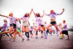The Color Run! Can't wait to do this with Brittany Arrowsmith and Megan Jane Renwick! And our men, of course:D
