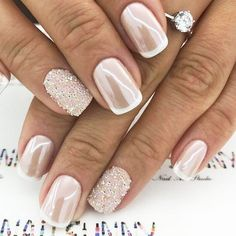 Latest Shimmer Nails Designs ★ See more: http://glaminati.com/shimmer-nails-designs/ #DIYNailDesigns