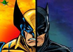 Wolverine/batman