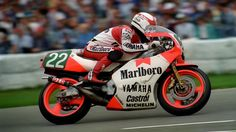 Luca Cadalora Yamaha YZR 250 in 1987