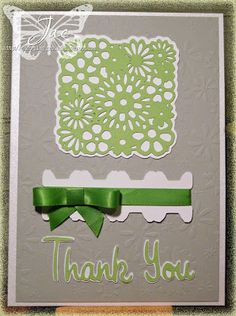 Jac's Playground: A simple Thank You card