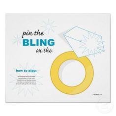 Bridal Shower Games on Wedding Ring Bridal Shower Game Poster From Zazzle Com Bridal Shower Poems, Wedding Shower Games, Bridal Shower Party, Wedding Games, Wedding Ring, Wedding Ideas, Wedding Stuff, Bridal Showers, Dream Wedding
