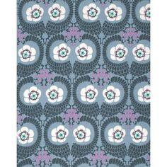 Amy Butler Violette - French Twist Zinc | 100% cotton floral fabric