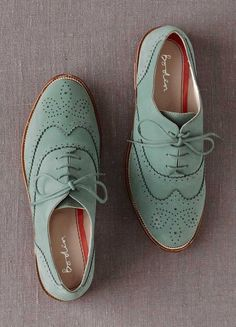Mint Classic Oxfords