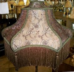 Antique Lamp Shades