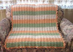 Crochet Pattern of the Day: Grandma's Favorite Baby Blanket