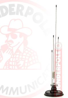Thunderpole Skyscan mobile radio scanner antenna.