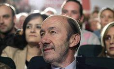 """Rubalcaba dice que la subida de las pensiones será """"virtual"""" como el rescate vía @cerestv"""