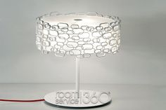 Glamour Table Lamp in White by Dodo Arslan for Terzani Unique Table Lamps, Contemporary Table Lamps, Glow, Glamour, Lighting, Modern, Design, Home Decor, Trendy Tree