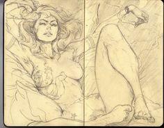 ArtStation - Lady Sketches - Oldies Edition, Devon Cady-Lee