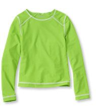 Girls' Sun-and-Surf Shirt, Long-Sleeve