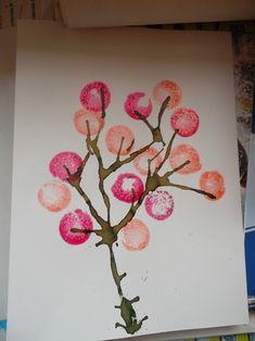 Nos arbres à la manière de Angela Vandenbogaard Petite Section, Art Plastique, Art For Kids, Whimsical, Projects To Try, Merry, Activities, Frame, Crafts