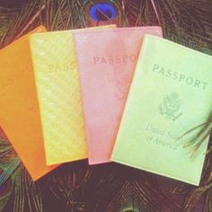 Travel in style! With these Passport covers by Abas. Sold at Blessed Peacemakers. Boho Accessories, Passport Cover, Little Things, Travel Style, Ds, Statues, Blessed, Bohemian, Summer