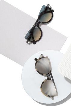 d426332a8ff6 Fendi - 52MM Embellished Semi-Rimless Acetate Sunglasses