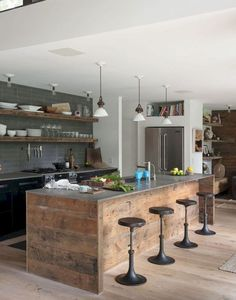 77 best rustic renovations ideas for farmhouse style (8)