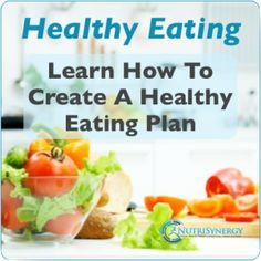 Discover a simple way of creating a healthy balanced meal