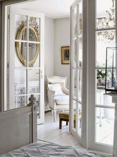 white and elegant room